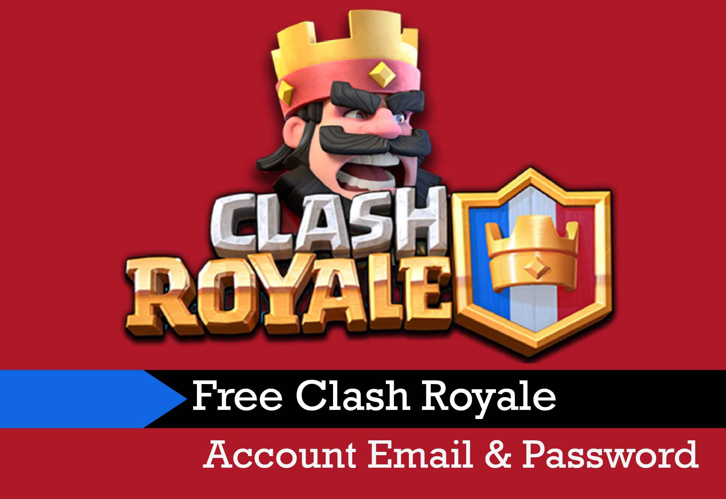 Free Clash Royale Account