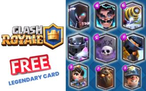legendary cards in clash royale