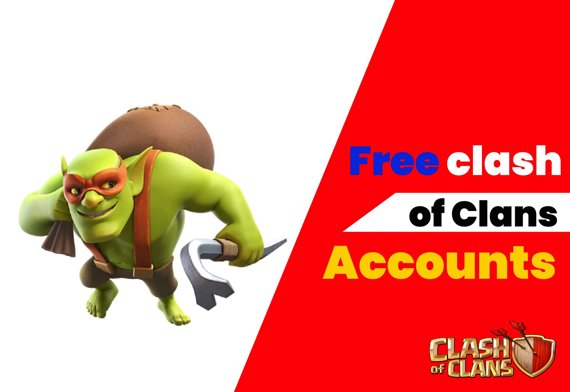 Free Clash of Clans Account 100% Free