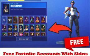 Free Fortnite Accounts With Skins