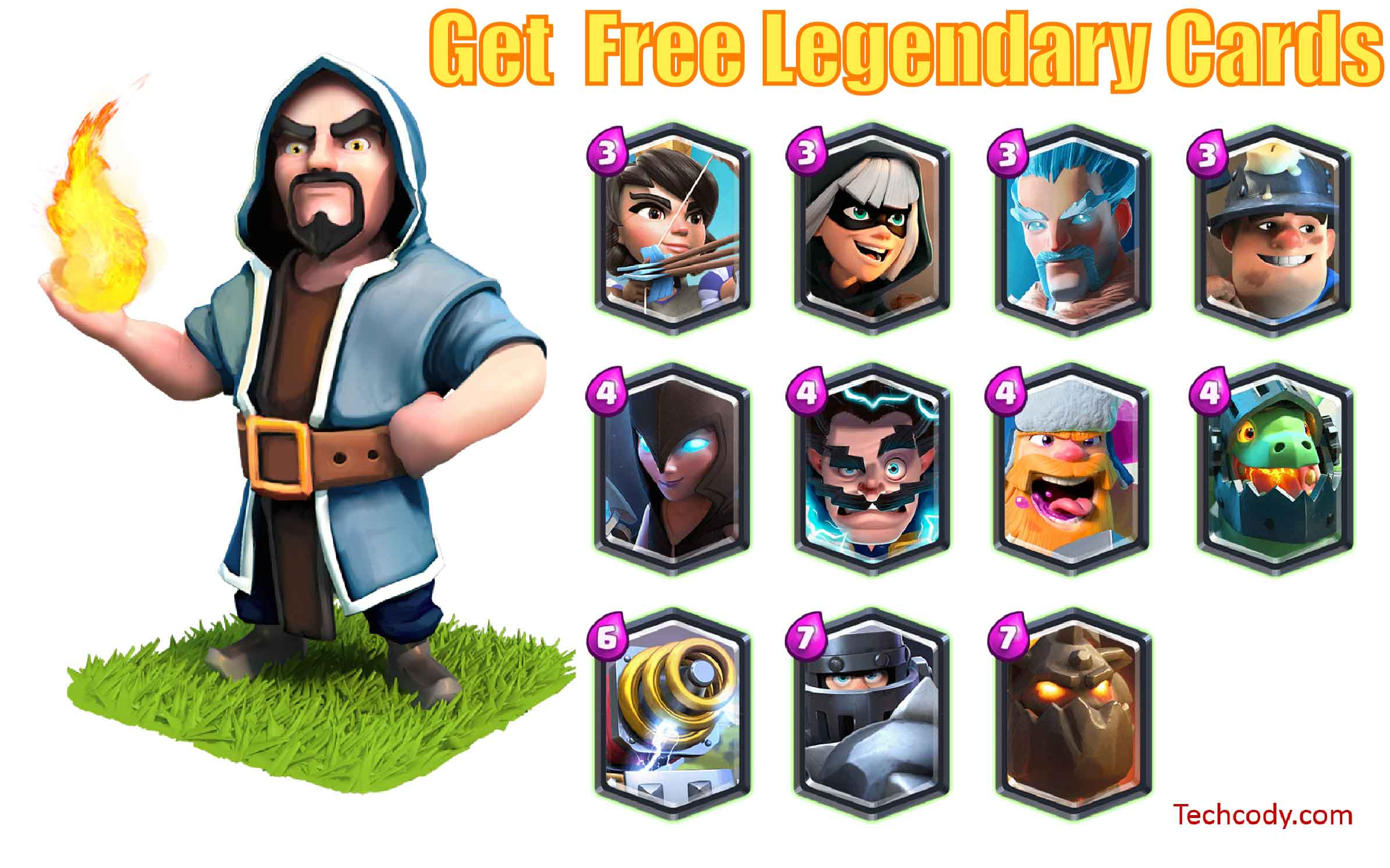 How To Get More Free Legendary Cards In Clash Royale