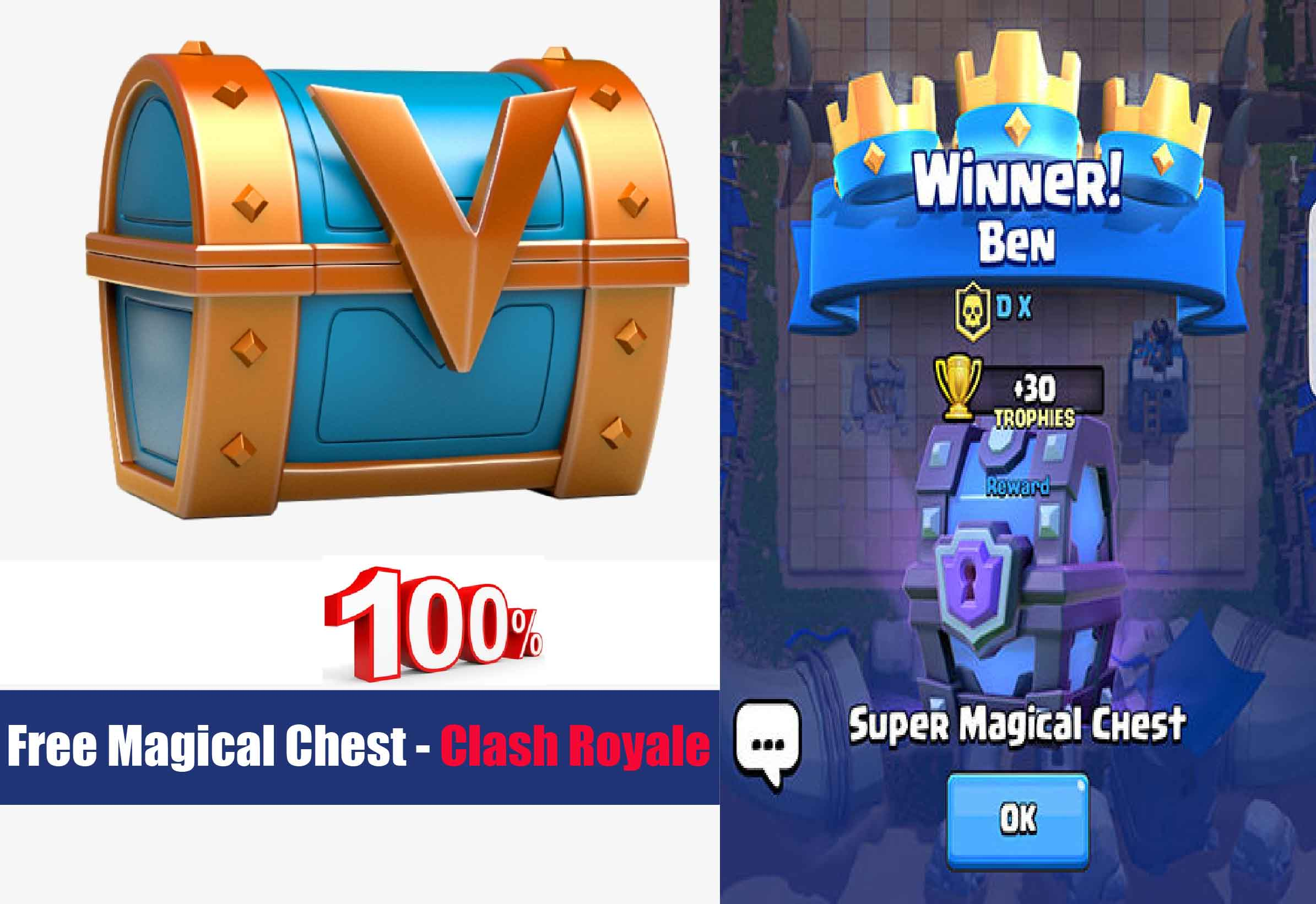 how to get magical chest