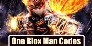 One Blox Man Code list